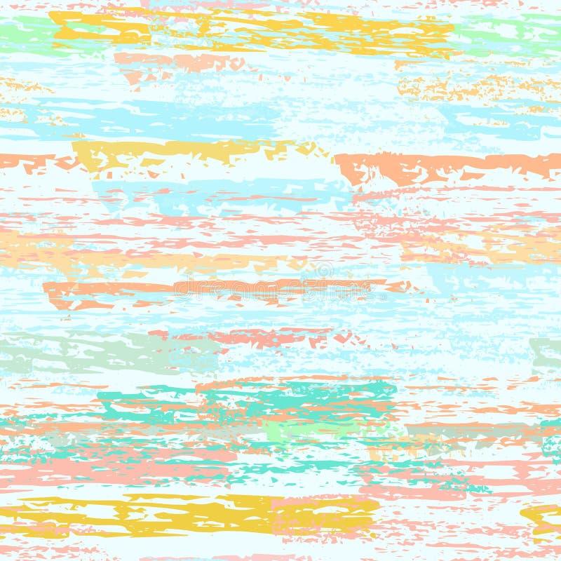 As listras do Grunge alinham Texturas do giz ilustração stock