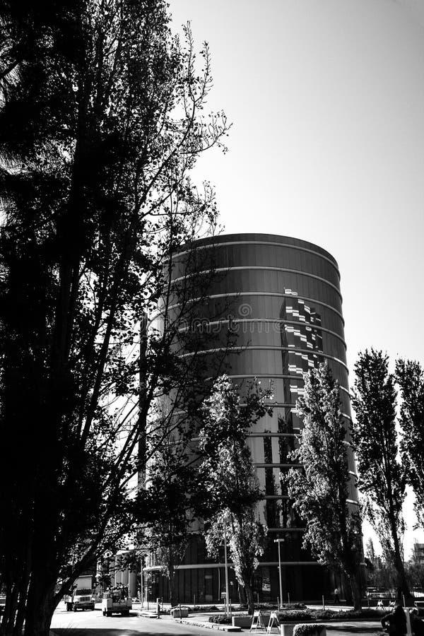 As matrizes de Oracle situadas em Redwood City fotografia de stock