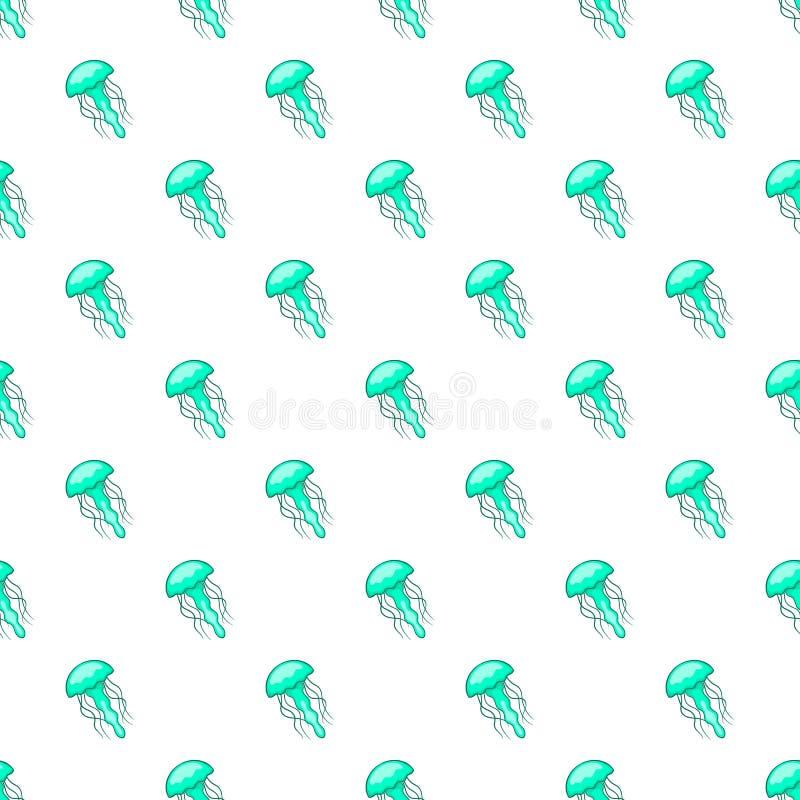 As medusa modelam, estilo dos desenhos animados ilustração stock