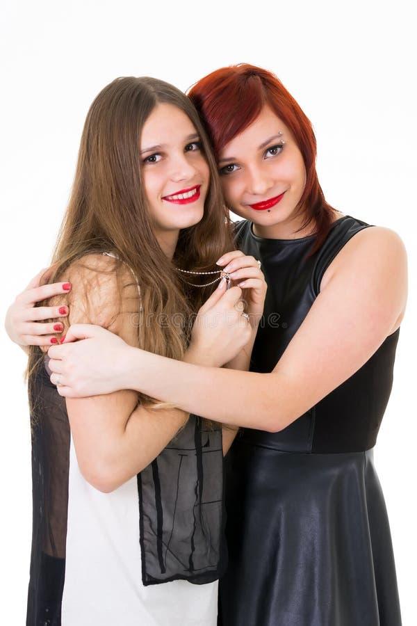As melhores amigas adolescentes imagens de stock royalty free