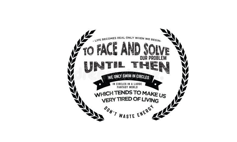 As melhores citações inspiradores, amor inspirador citam, citações inspiradores ilustração stock