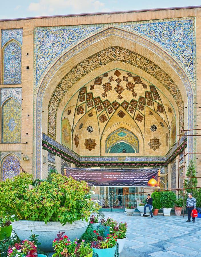 As mesquitas de Tehran fotos de stock royalty free