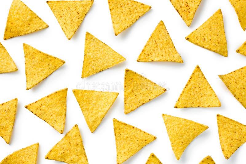 As microplaquetas dos nachos fotografia de stock royalty free