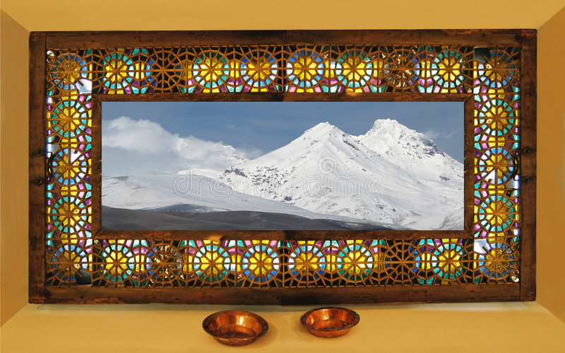 As montanhas arménias. fotografia de stock royalty free
