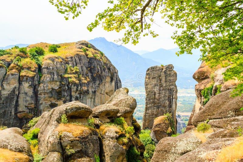 As montanhas de Pindos imagens de stock royalty free