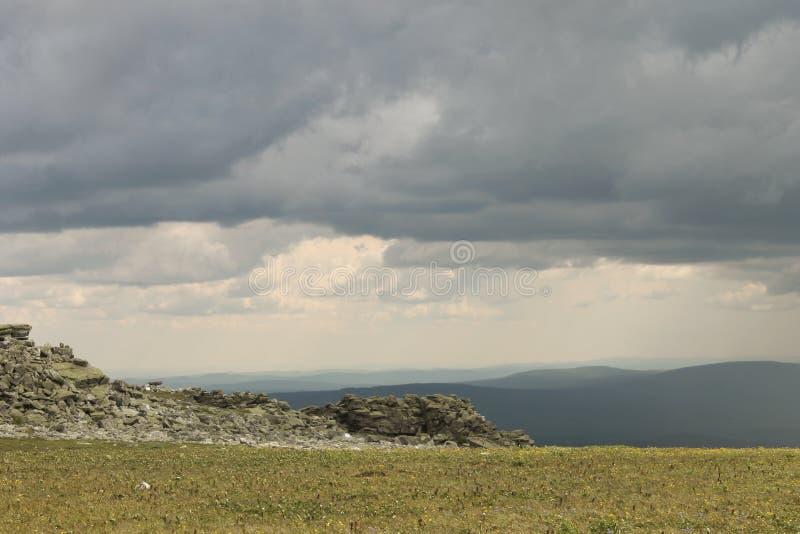 As montanhas de Ural imagens de stock royalty free