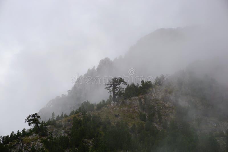 As montanhas em Albânia fotos de stock royalty free