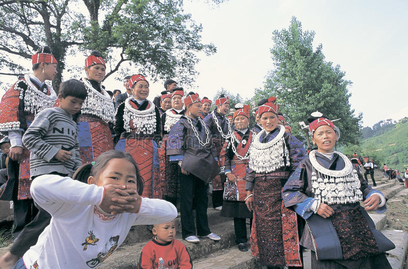 Download Hmong no sudoeste China foto de stock editorial. Imagem de povos - 29839533
