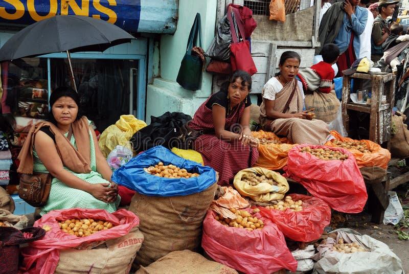 Download As Mulheres Introduzem No Mercado Em India Foto de Stock Editorial - Imagem de mulheres, economia: 16855343