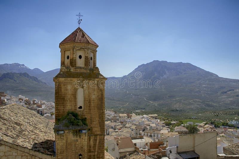 As municipalidades da província de Jaén, de Bedmar e de Agosie Bosch imagens de stock royalty free