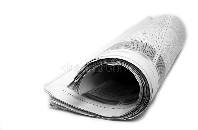 As notícias forram com vidros imagens de stock