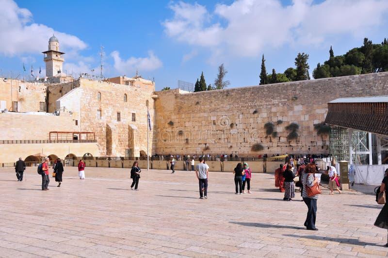Download Parede Lamentando De Jerusalem Fotografia Editorial - Imagem de velho, nuvem: 29825042