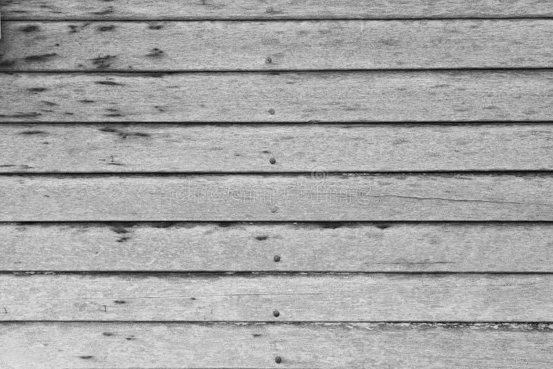 As paredes de madeira fizeram da madeira vista vêm como paredes e pregos guardar Original tailandês do vintage popular da decoraç foto de stock royalty free
