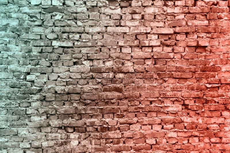 As paredes de tijolo velhas A textura do tijolo Parede antiga Fundo do Grunge Fundo vermelho, marrom do tijolo Fundo de vazio imagem de stock