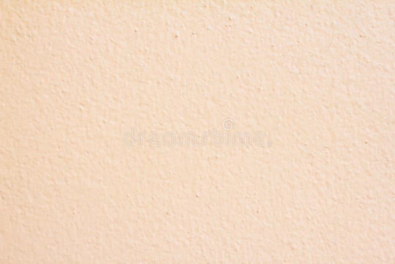 As paredes desnatam o fundo pastel da textura do sumário bege do papel da cor fotografia de stock royalty free