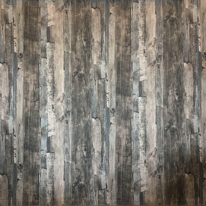 As paredes e os assoalhos são de madeira foto de stock royalty free