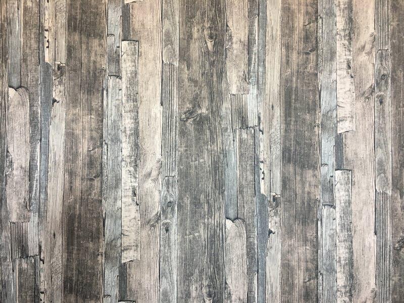 As paredes e os assoalhos são de madeira fotografia de stock