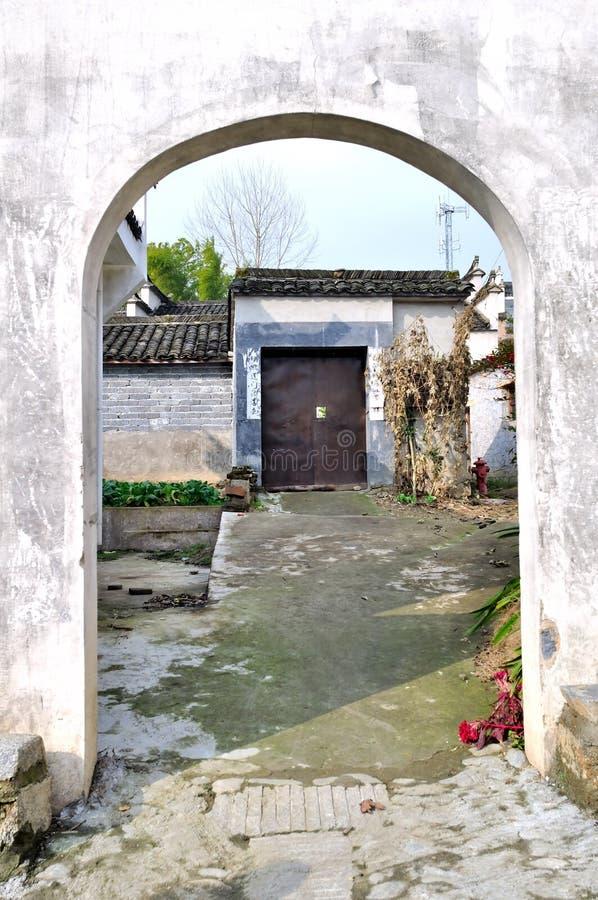 As paredes exteriores do velho imagens de stock royalty free