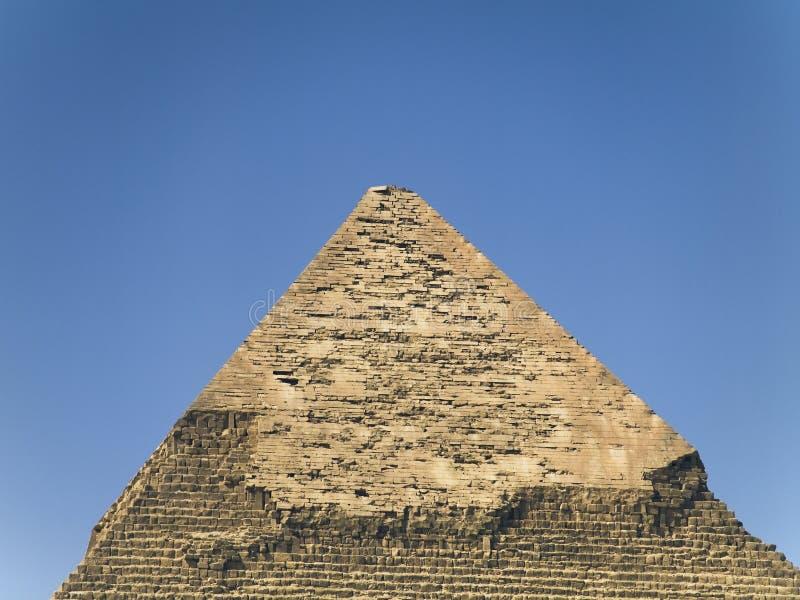 As pirâmides de kefren imagens de stock