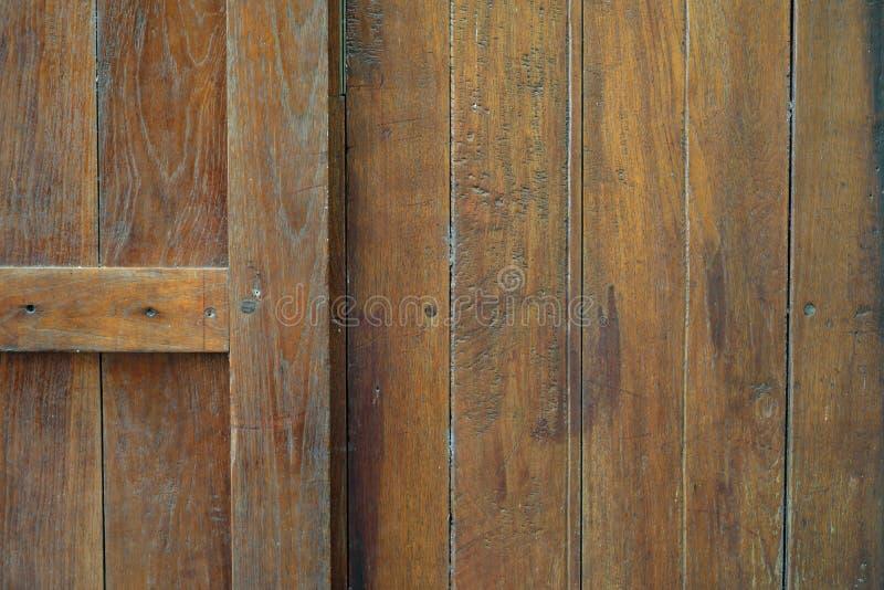 As placas de madeira velhas têm traços de tempo imagens de stock royalty free