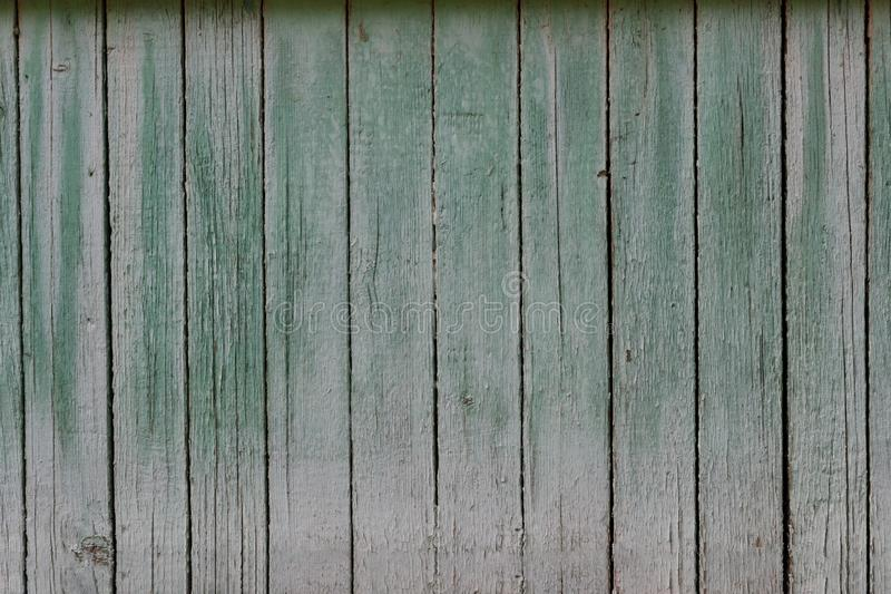 As pranchas lisas do fundo de madeira da parede pintaram frontal fotos de stock royalty free