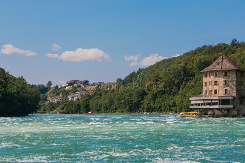 As quedas de Rhine imagem de stock royalty free