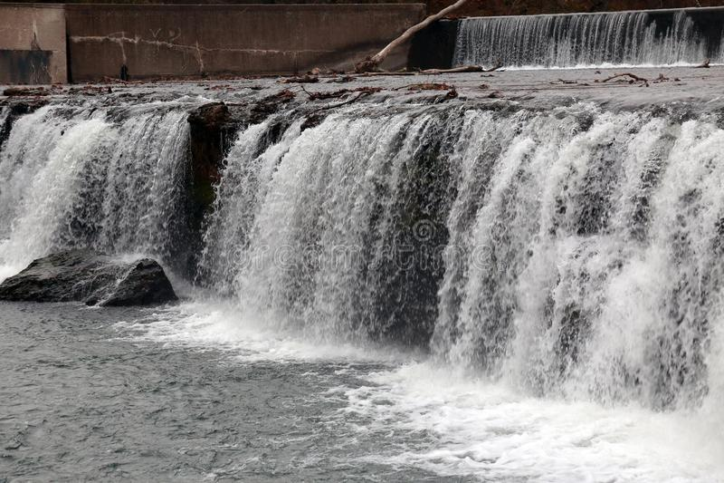 As quedas grandes molham a queda, Joplin, Missouri imagens de stock royalty free