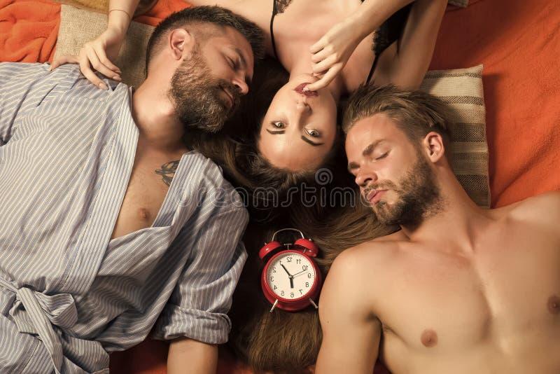 As relações do boêmio, relaxam, acordam foto de stock