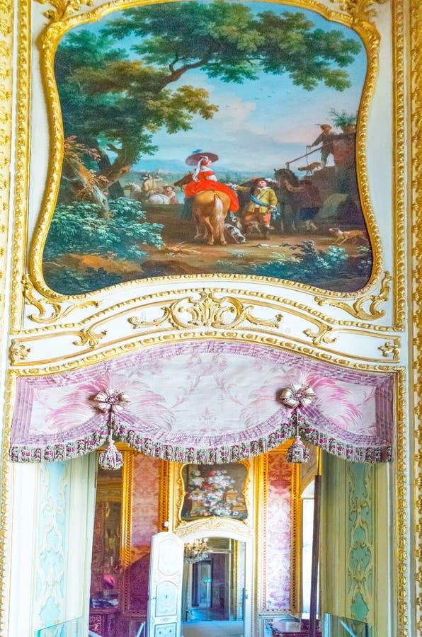 As residências da família real do couve-de-milão imagens de stock