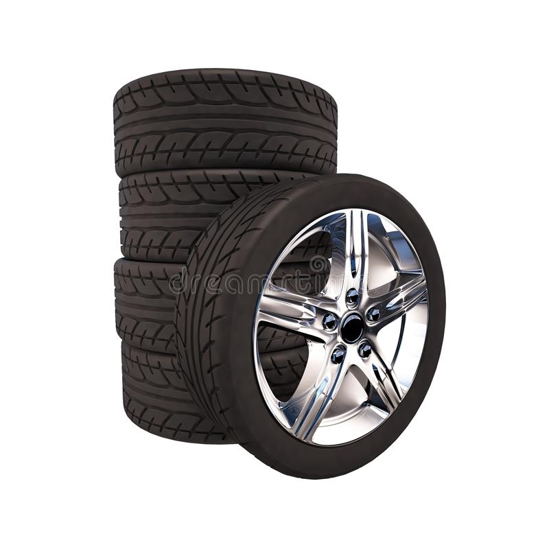 Download Rodas e pneus foto de stock. Imagem de jogo, estrada - 29847658