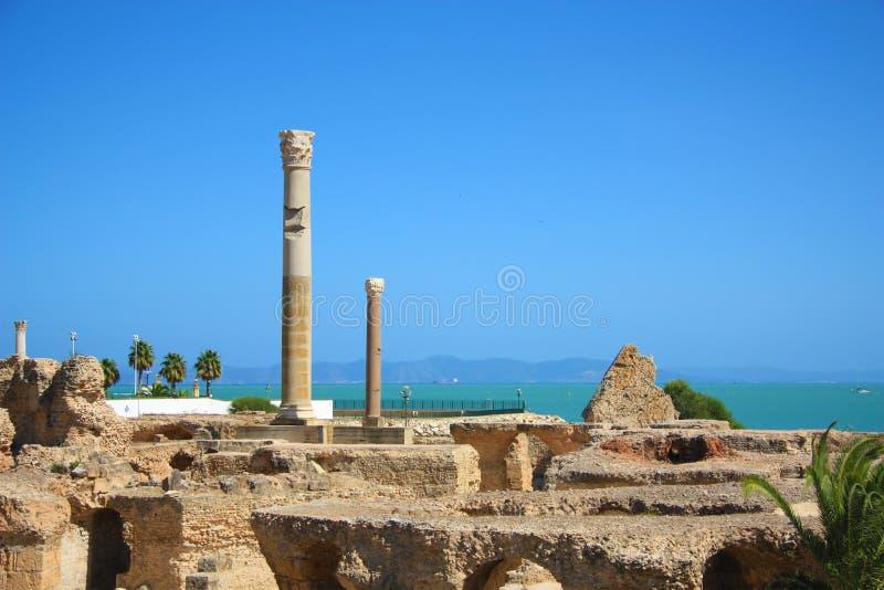 Download As ruínas de Carthage imagem de stock. Imagem de civilização - 12803569