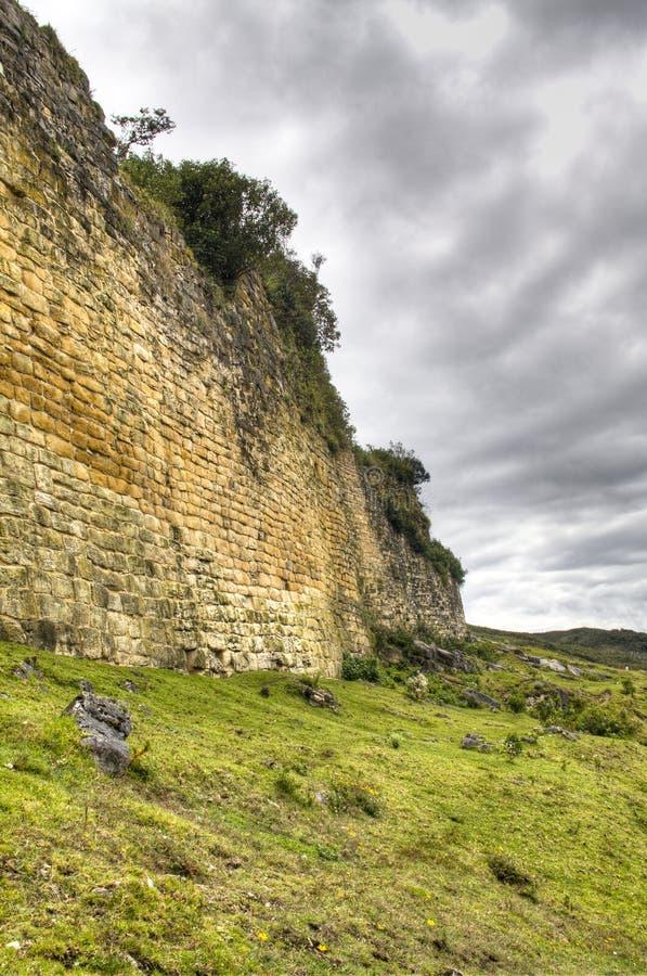As ruínas de Kuelap imagem de stock