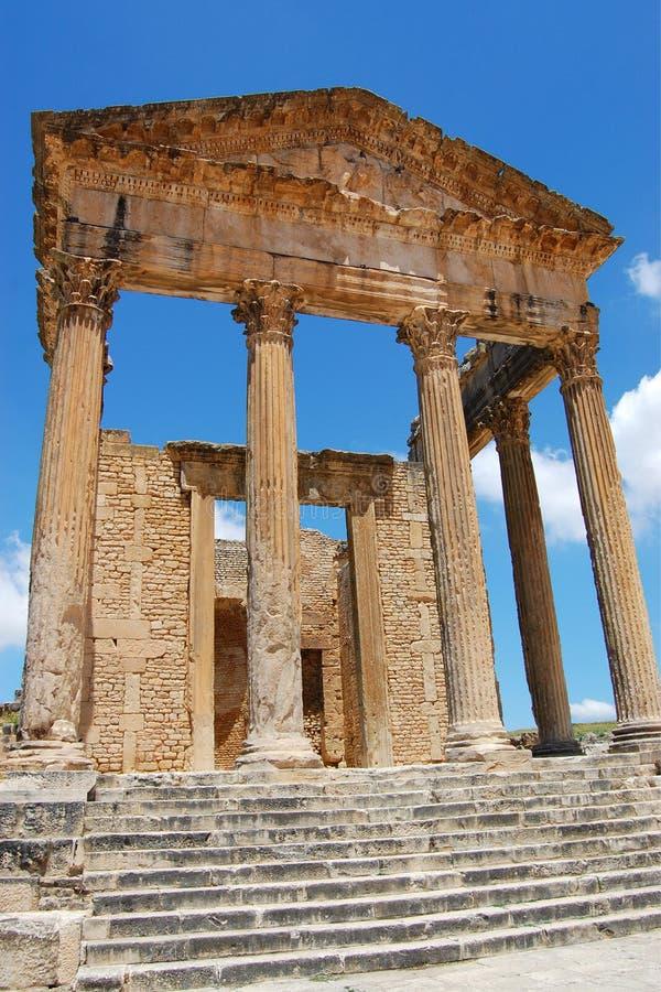 As ruínas de Roman Capitol imagens de stock royalty free
