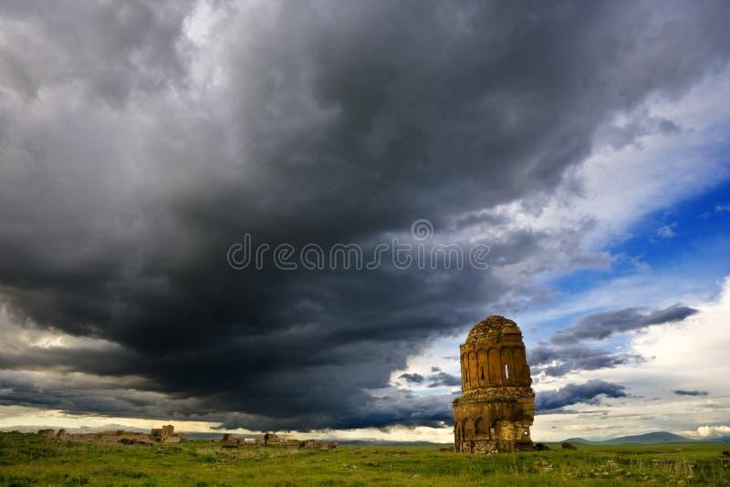 As ruínas do Ani foto de stock