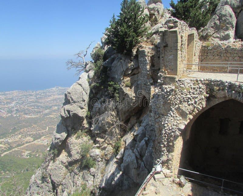 As ruínas do Lionheart do rei Richard do rei do cruzado foto de stock