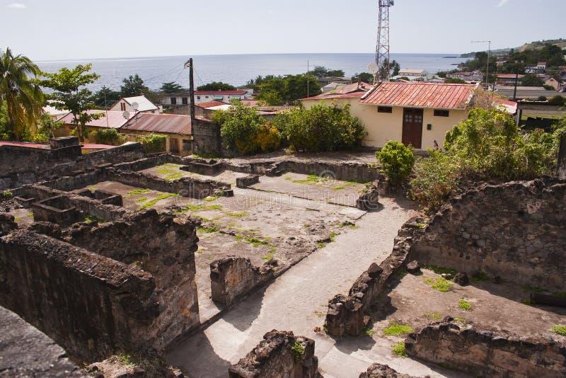 Download Vila Arruinada Do Saint Pierre Imagem de Stock - Imagem de saint, eruption: 29842119