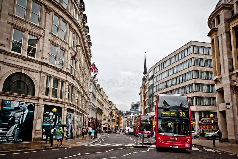 As ruas de Londres imagens de stock royalty free
