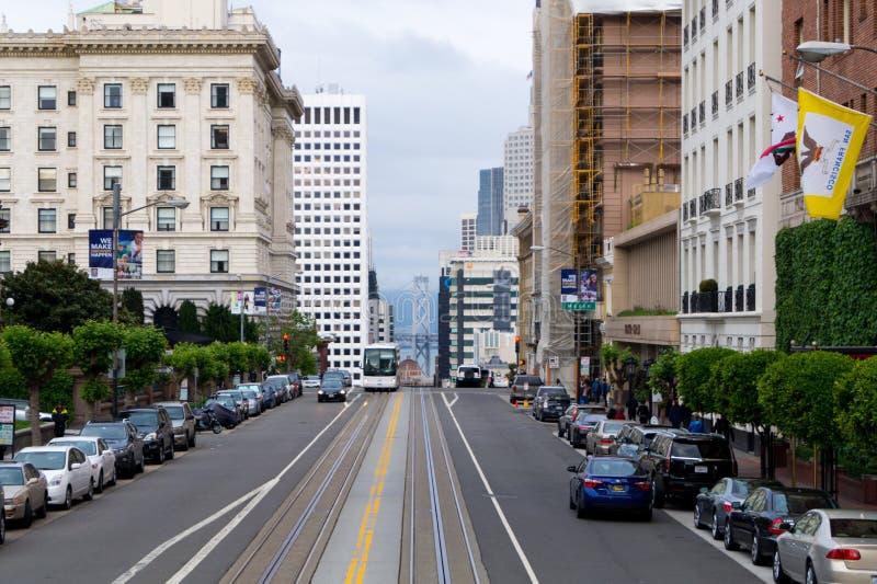 as ruas de San Francisco imagens de stock
