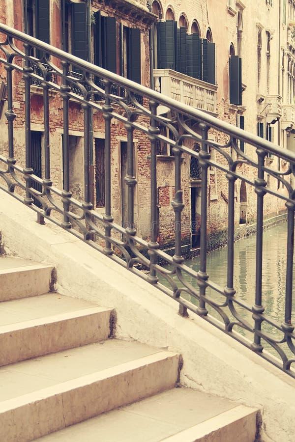 As ruas de Veneza fotografia de stock