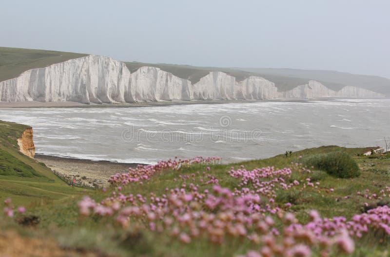 As sete irmãs, Sussex imagens de stock