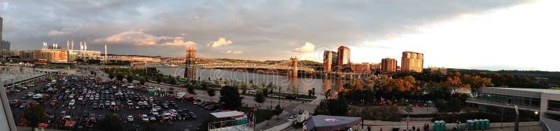 Cincinnati Skyline stock image