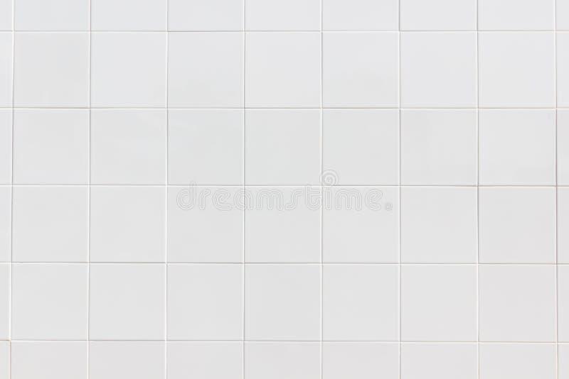 As telhas brancas muram/texturas cerâmicas brancas das telhas da parede para a decoração do quarto imagens de stock royalty free