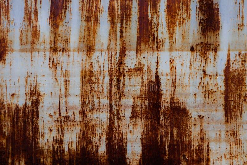 As texturas bonitas do close up abstraem o metal oxidado velho e o fundo de a?o fotos de stock royalty free
