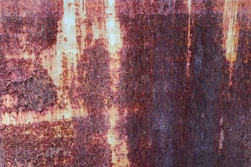 As texturas bonitas do close up abstraem o metal oxidado velho e o fundo de a?o imagens de stock royalty free