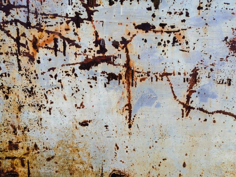 As texturas bonitas do close up abstraem o metal oxidado velho e o fundo de a?o fotografia de stock royalty free