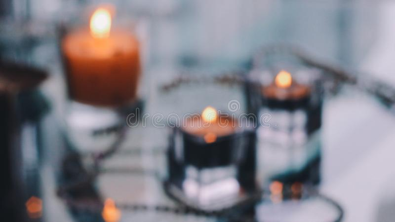 As Time Goes By - Holiday Candle Lights. Beautiful holiday candle lights, romantic home decoration royalty free stock photos