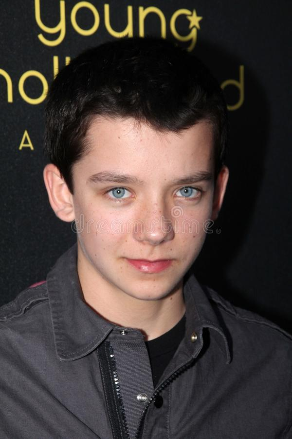 Asa Butterfield At The 14th Annual Young Hollywood Awards, Hollywood Athletic Club, Hollywood, CA 06-14-12 Editorial Photo