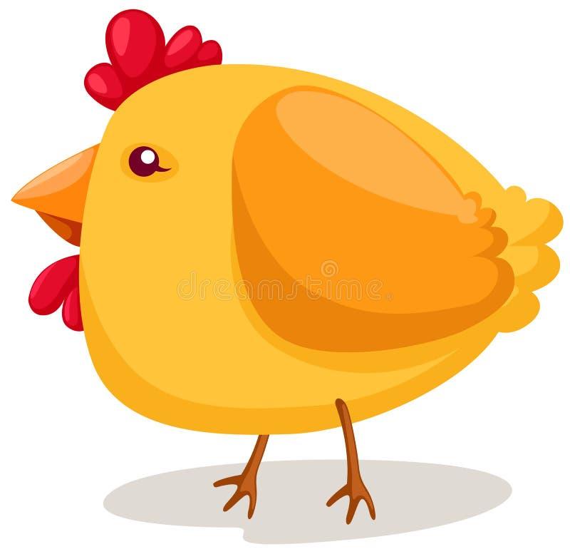 Asa de galinha ilustração royalty free