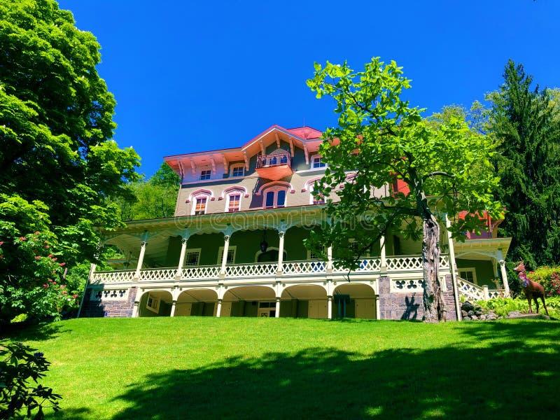 Asa Packer Mansion en Jim Thorpe photos libres de droits