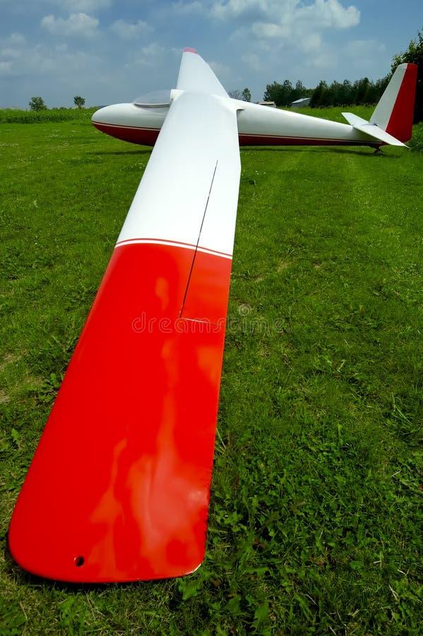 Download Asa w/Paths do planador foto de stock. Imagem de planadores - 104570